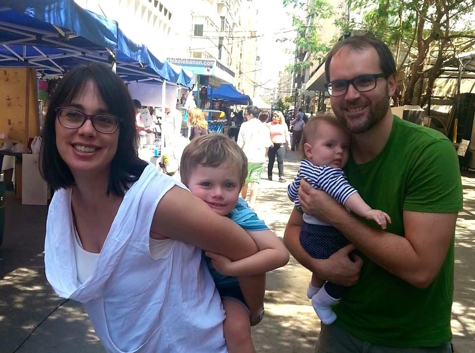 8.Sa porodicom u Bejrutu